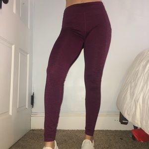 Purple Athletic Leggings